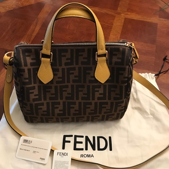 5f462e13efe ... bag 5c982 1dd84 new zealand fendi zucca signature satchel crossbody  purse ec918 2228b new zealand auth ...